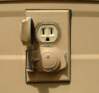 A meghibásodott, és elhasználódott konnektorokat le kell cserélni!